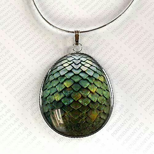 Dragon egg pendant on etsy so cute!