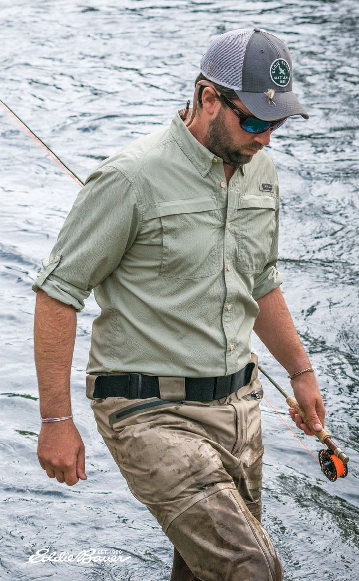 The ultimate fishing shirt, the Guide Long-SleeveShirt, is guide-built for superior performance and comfort in hot, humid conditions.