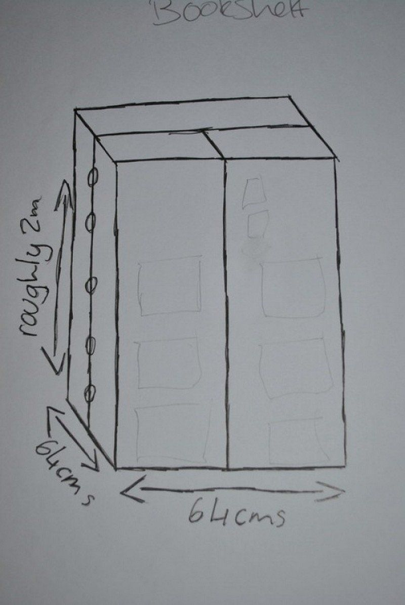 How To Build Your Own Tardis Bookshelf