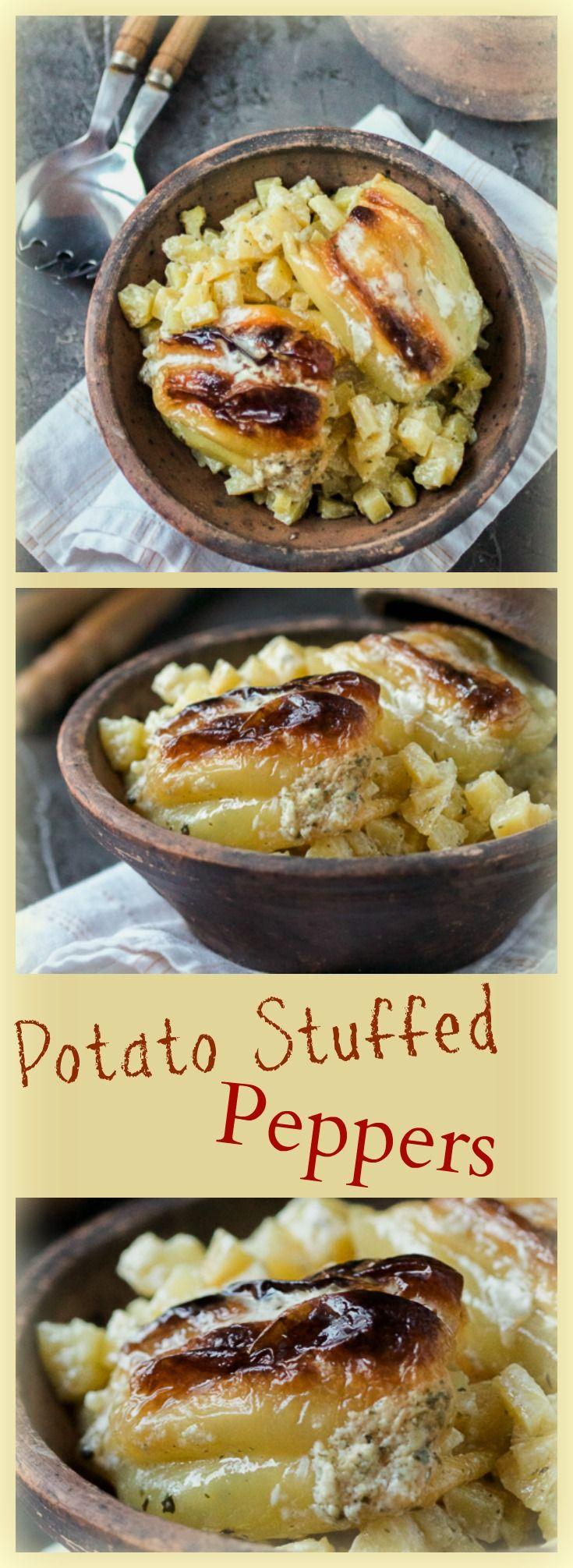 Potato stuffed peppers v2 paprike punjene krompirom v2 recipe bosnian food forumfinder Choice Image
