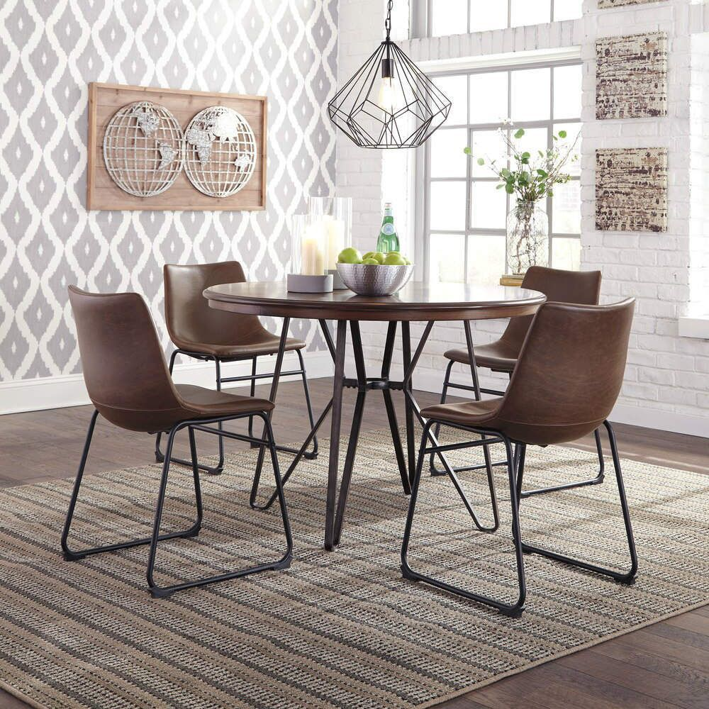 Centiar 5 Piece Dining Group In 2020 Dining Table Dining Room