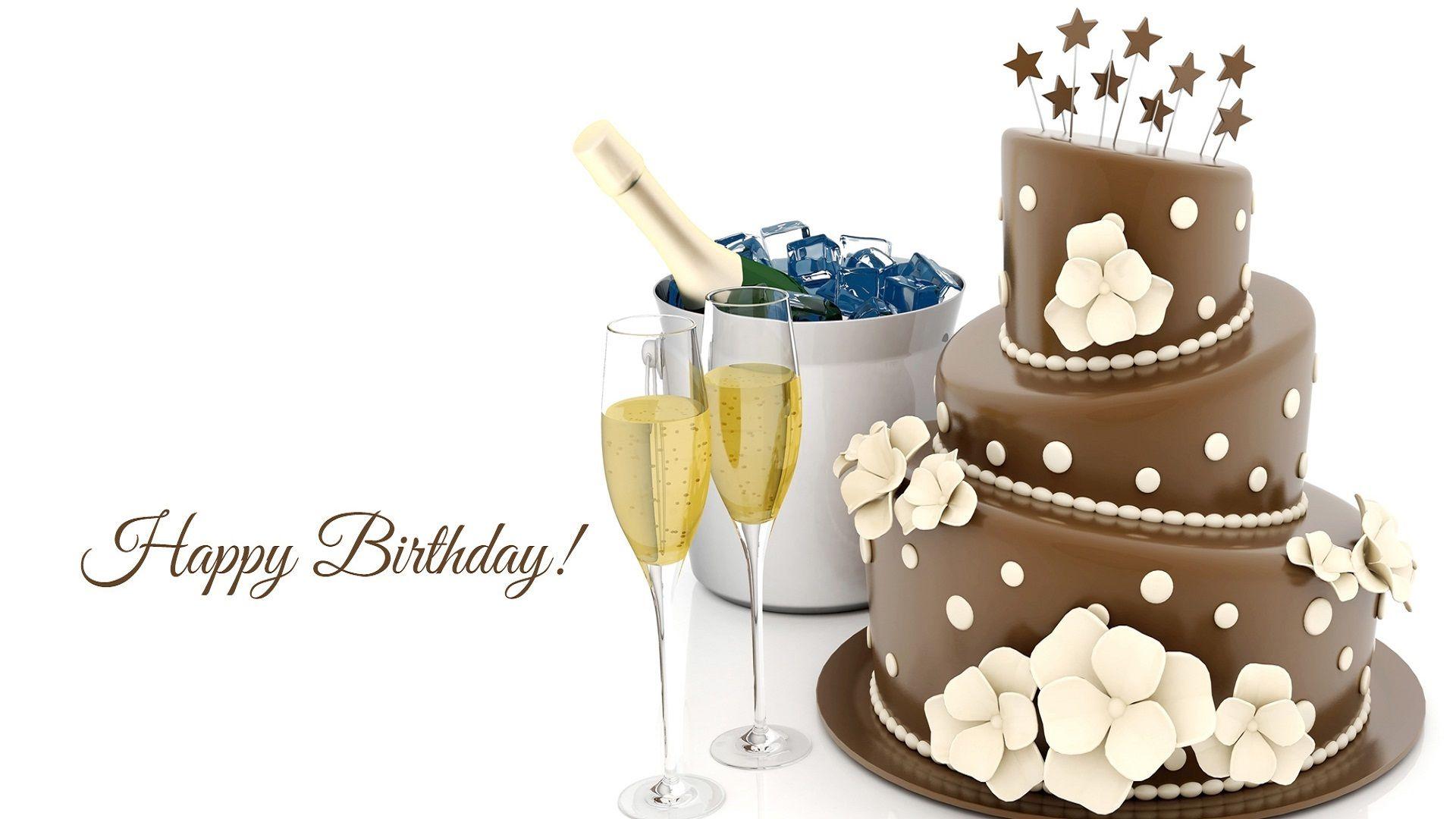 фон для поздравления торт этот
