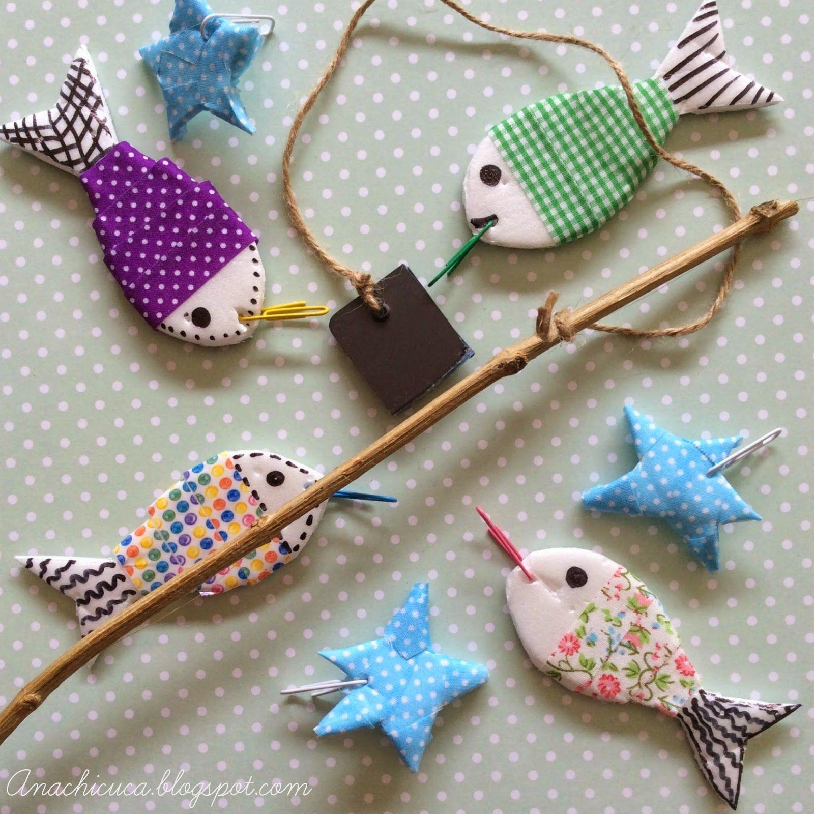 Anachicuca Caña Peces Y Estrellas Juegos De Pesca Para Niños Juegos De Fiesta Para Niños Manualidades