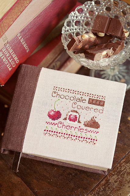 chocolate con cerezas