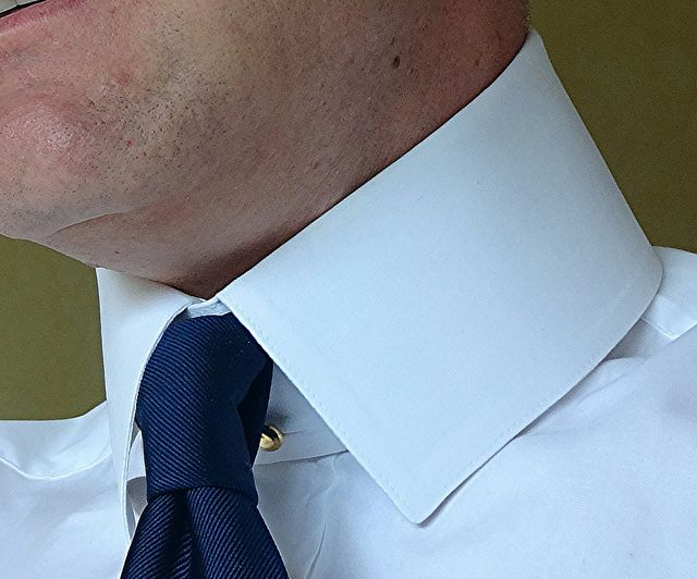"Darcy ""Casual"" Stiff Starched Collar 