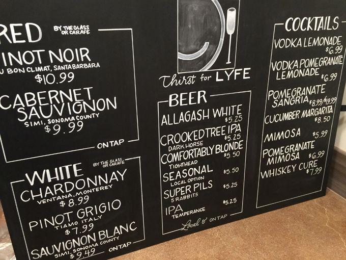 Chicago Chalk Lettering And Illustration Beer Chalkboard