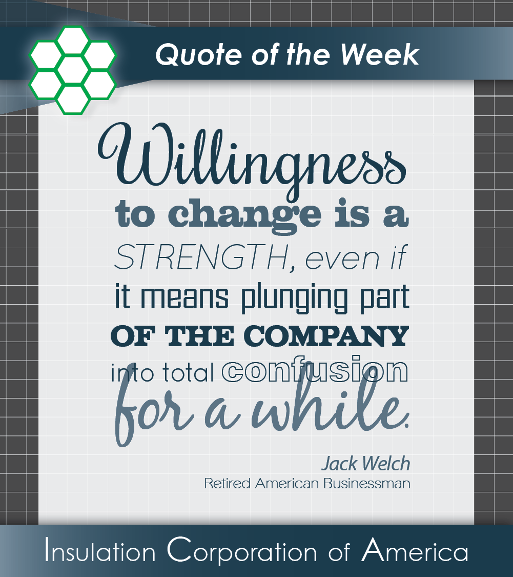 Jack Welch Quotes Quote Of The Week  Jack Welch  Change Inspiration  Quote Of