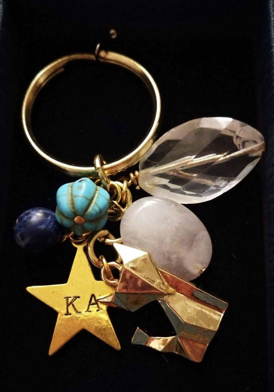 Photo of This custom made Key Chain was specially designed for a girl taking her O- Level…
