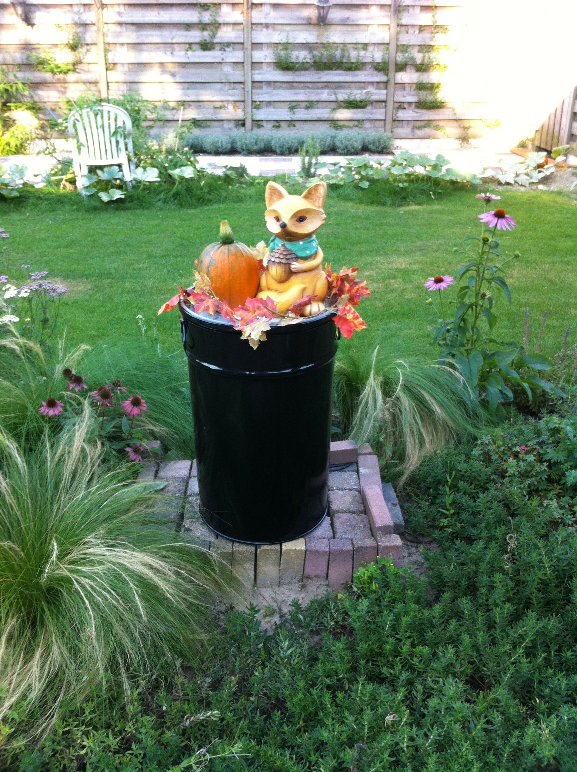 Halloween decoratie tuin