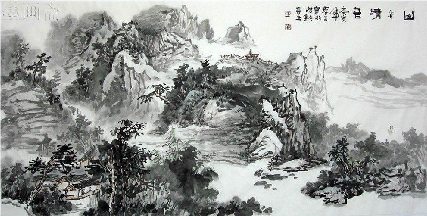 Famous Artists Landscape Painting Promotion Online Shopping For Chinese Landscape Painting Famous Landscape Paintings Chinese Landscape