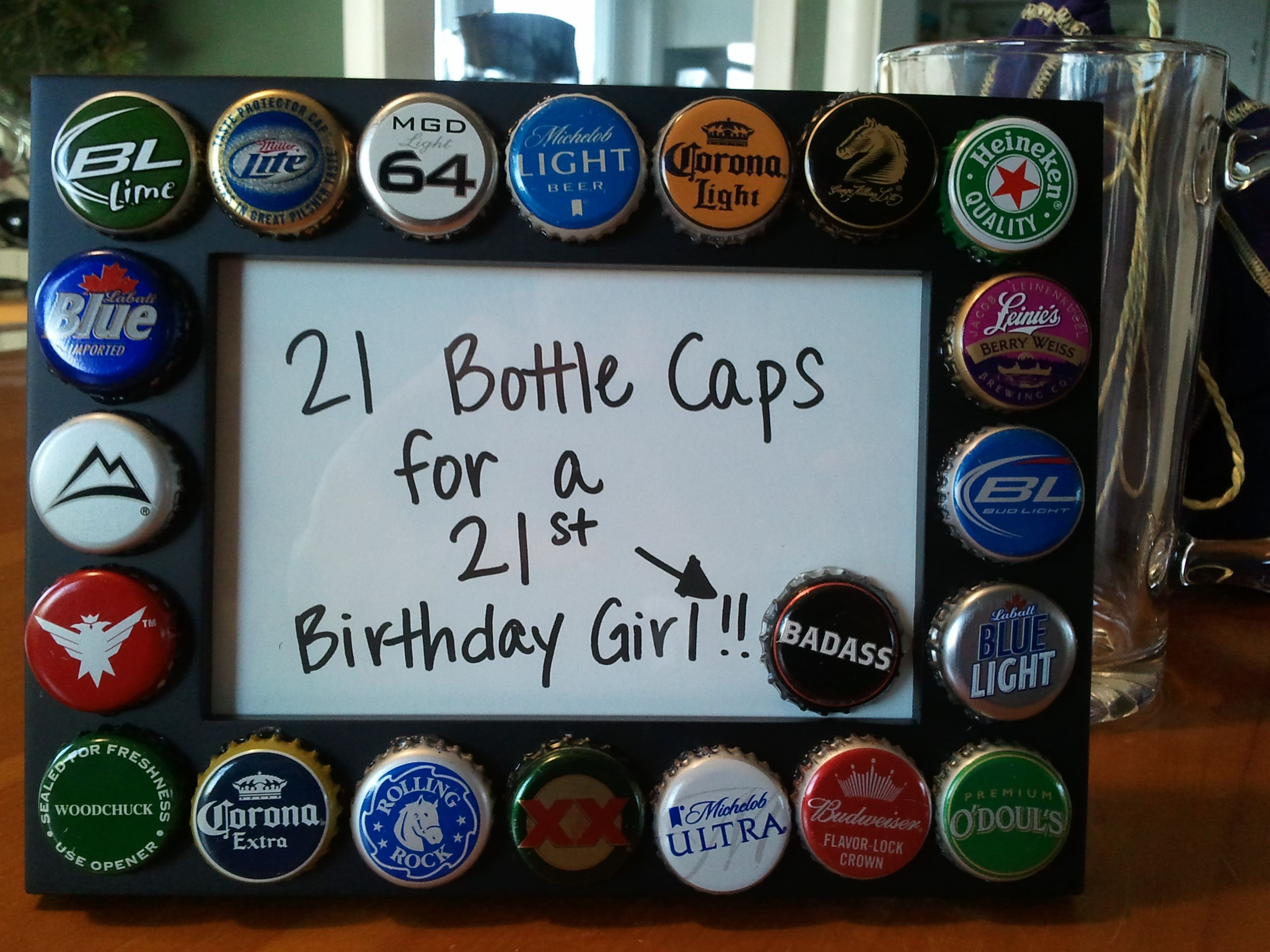 21st birthday gift! Badass!!! This would be good for a guy too ...