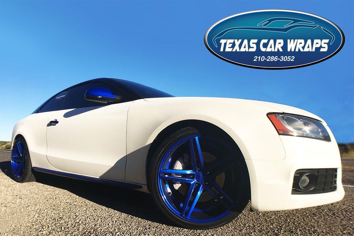Texas Car Wraps can help set your car apart subtly like