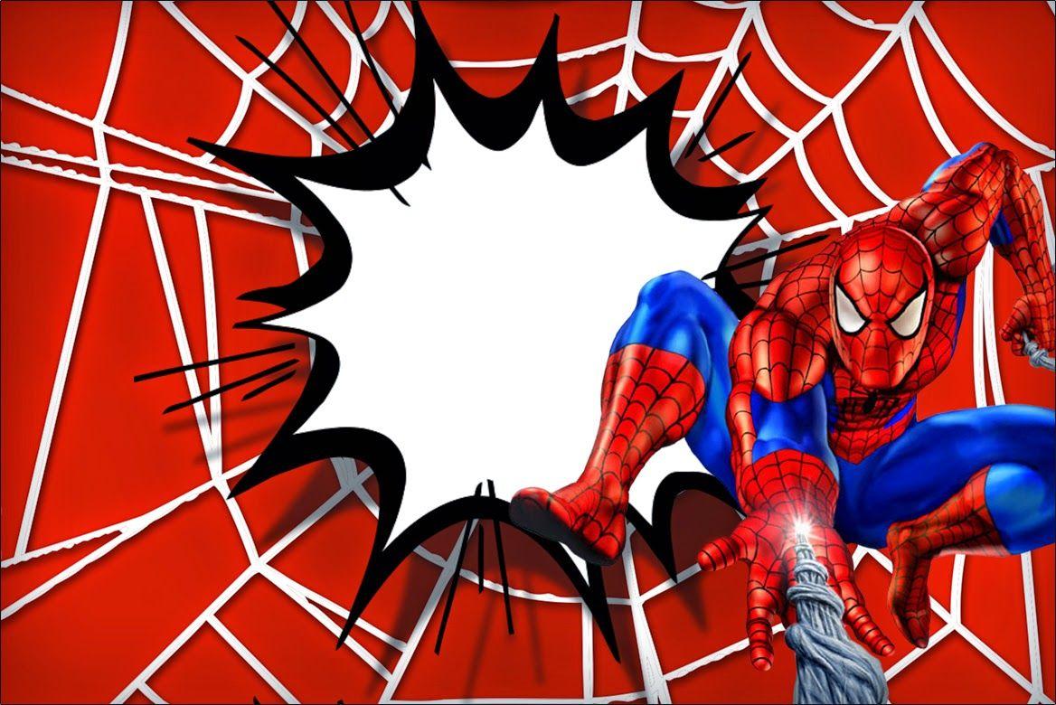 Spiderman: Free Printable Invitations. | paper-party set:superhero ...
