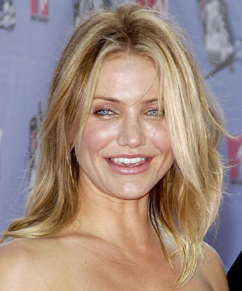 Cameron Diaz Long Straight Casual Fine Hair Cameron Diaz Hair Long Hair Styles