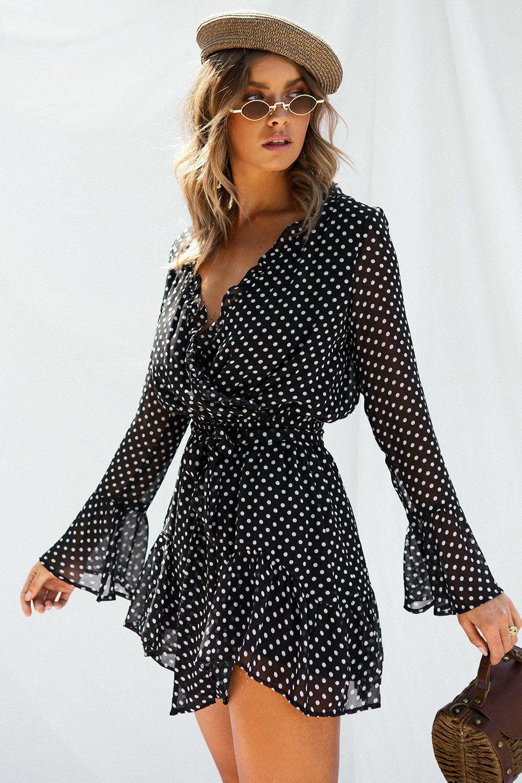 33f6dc75adb52 Lucia Spot Dress - Dresses | My Shopping Cart | Dresses, Sabo skirt ...