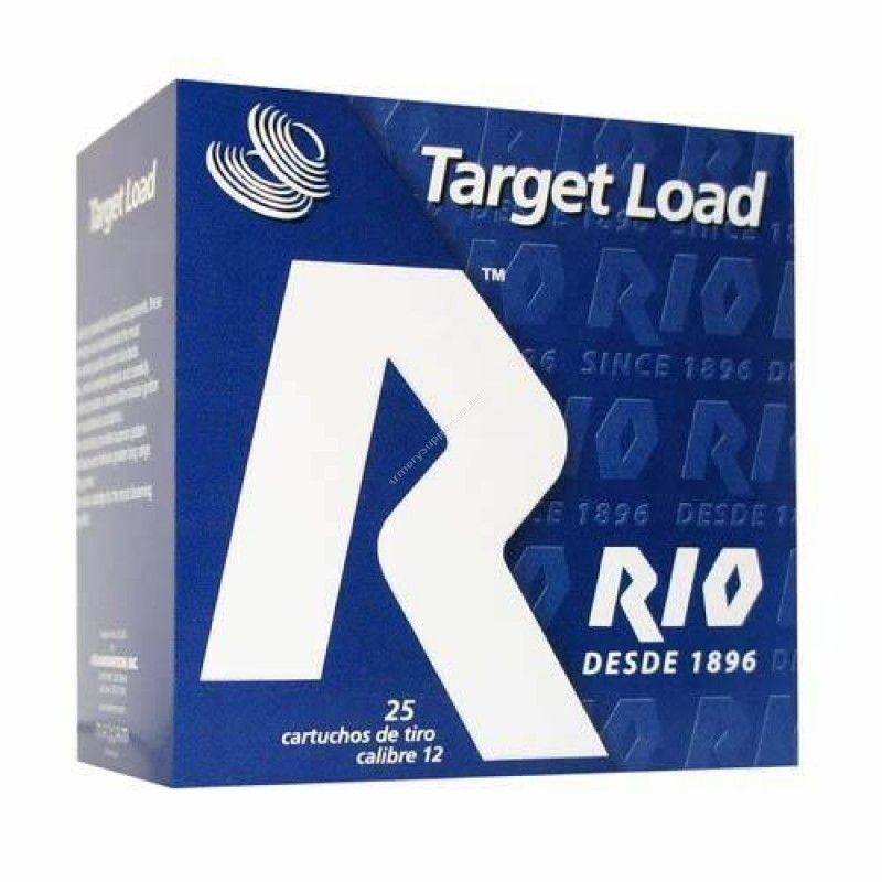 Rio 12 Gauge Target Load Sporting shotgun ammunition features specially selected components loaded under the most demanding quality control standards.