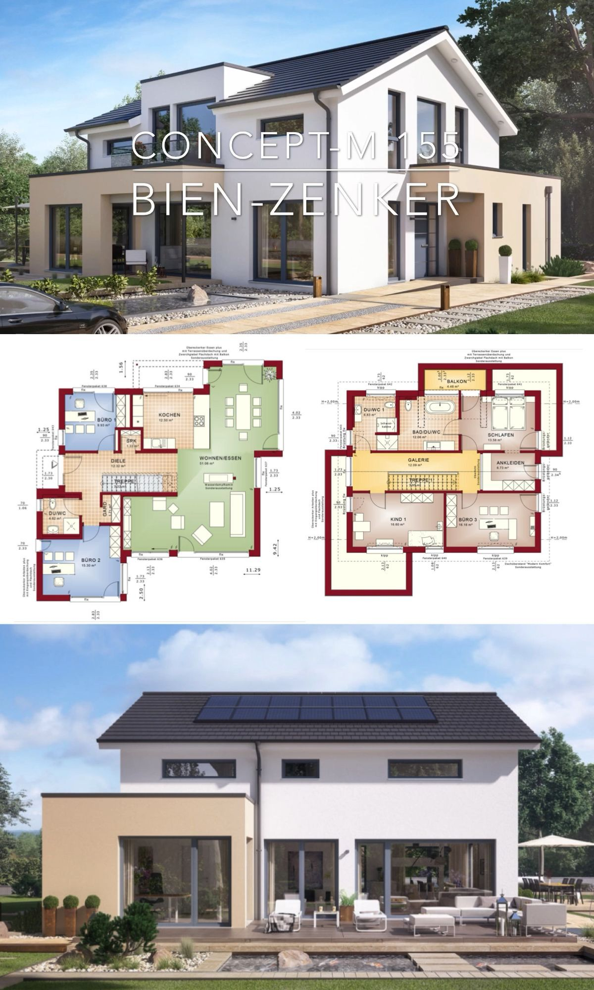 Home Design Plan 13x18m With 5 Bedrooms Home Ideas 13x18m Bedrooms Design Home Ideas P In 2020 House Construction Plan Duplex House Design House Layout Plans