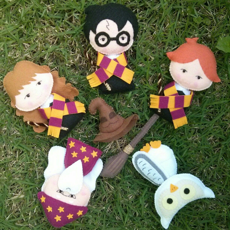 Harry Potter - PDF Pattern - Pocket Version   Filz, Harry potter und ...