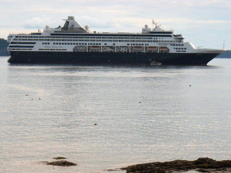 Cruise Ship At Bar Harbor Scrapbookcom Acadia Bar Harbor - Cruise ship bar harbor