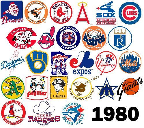 Oldtimehardball On Twitter 1980 Mlb Logos Some Absolute Classics Mlb Team Logos Mlb Teams Baseball Teams Logo