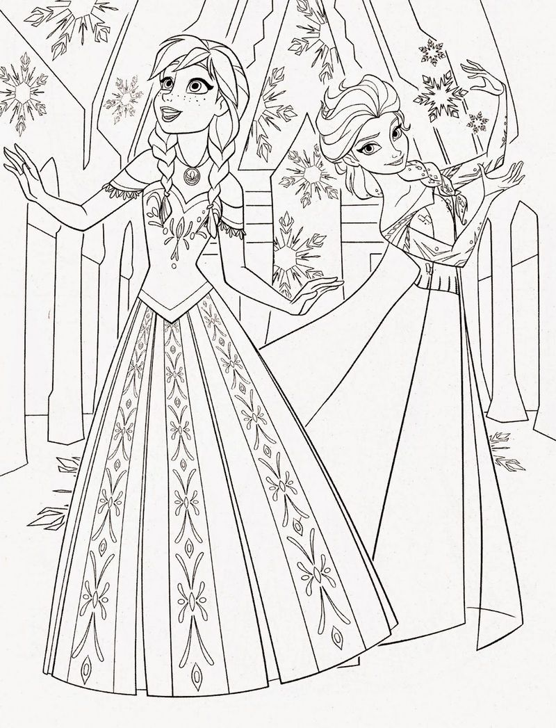 Frozen Disney Princess Coloring Pages In 2020 Disney Princess