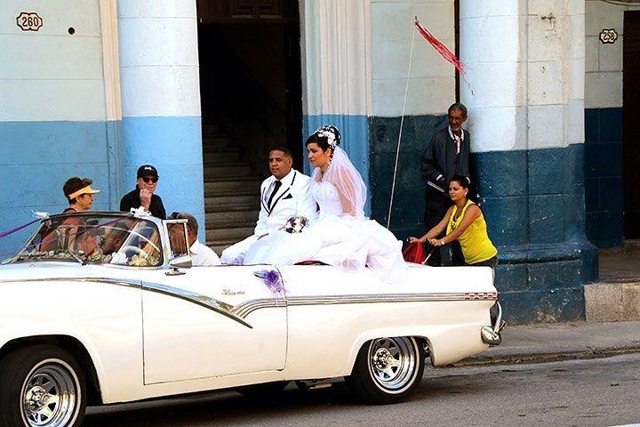 Wedding Day in Cuba  havana  cuba
