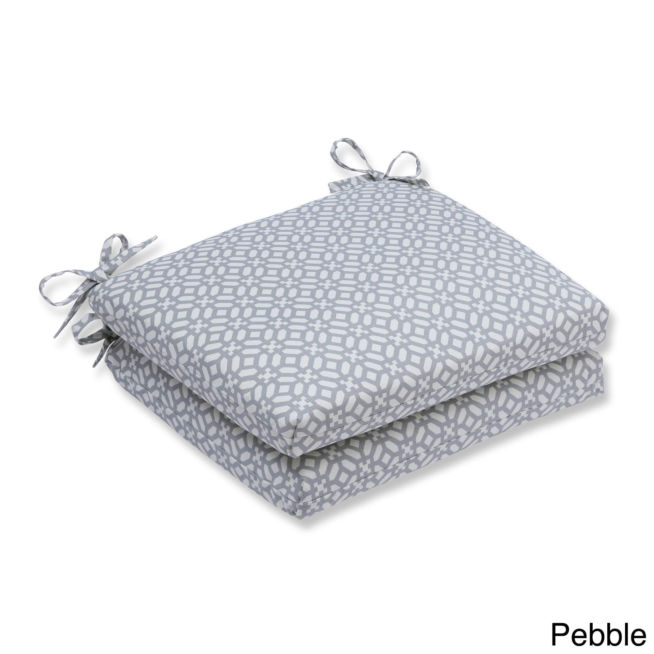 Pillow perfect outdoor indoor in the frame squared corners seat