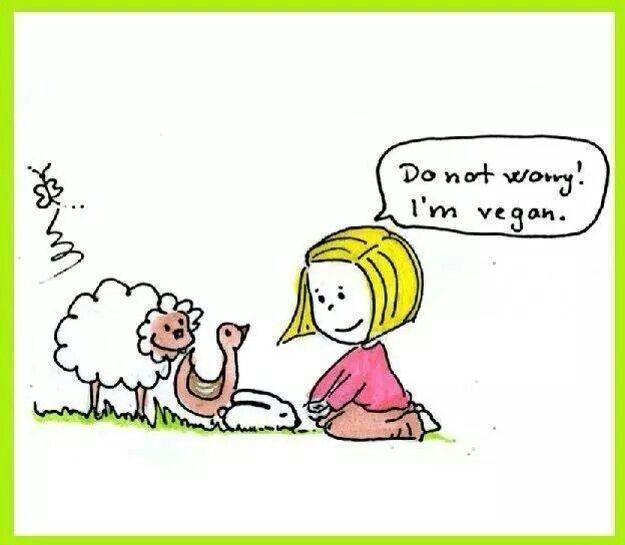 #Vegan #peace