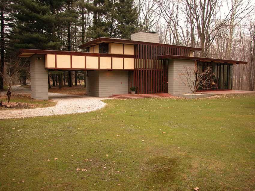Frank Lloyd Wright House Willoughby Ohio Frank Lloyd Wright