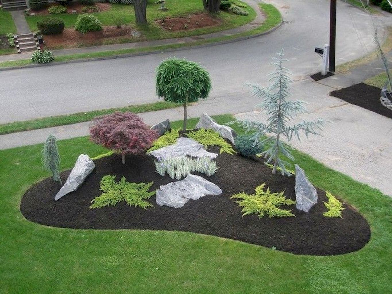 60 Low Maintenance Front Yard Landscaping Ideas | Small ...