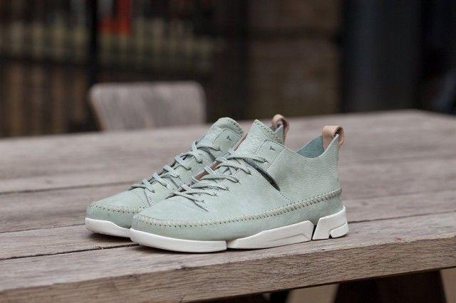 CLARKS SPORTSWEAR TRIGENIC FLEX (PALE GREEN) Sneaker