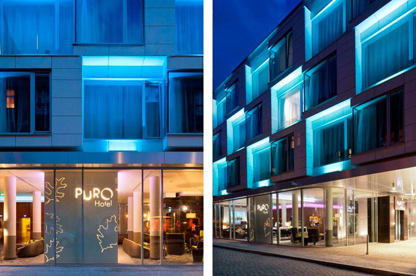 Voyeurdesign iluminaci n de hoteles iluminaci n de la for Hoteles diseno berlin