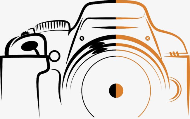 Digital Camera Stroke Camera Clipart Hit Color Shutter Png And Vector With Transparent Background For Free Download Camera Logo Photography Logo Hd Photography Name Logo