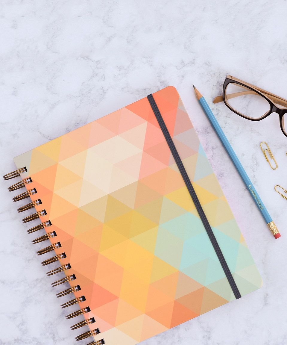 Look at this #zulilyfind! liveWELL Multicolor Triangle Flex July 2016-June 2017 Planner by  inkWELL Press #zulilyfinds