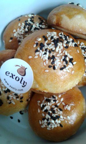 Roti Kompyang Makanan Roti Tepung