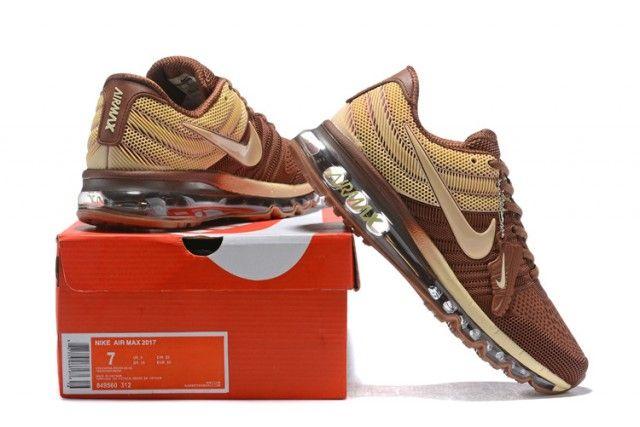 Mens Nike Air Max 2017 Kpu Sneakers Coffee Brown Beige 849560 312 849560 312h Nike Air Max Nike Air Mens Nike Air