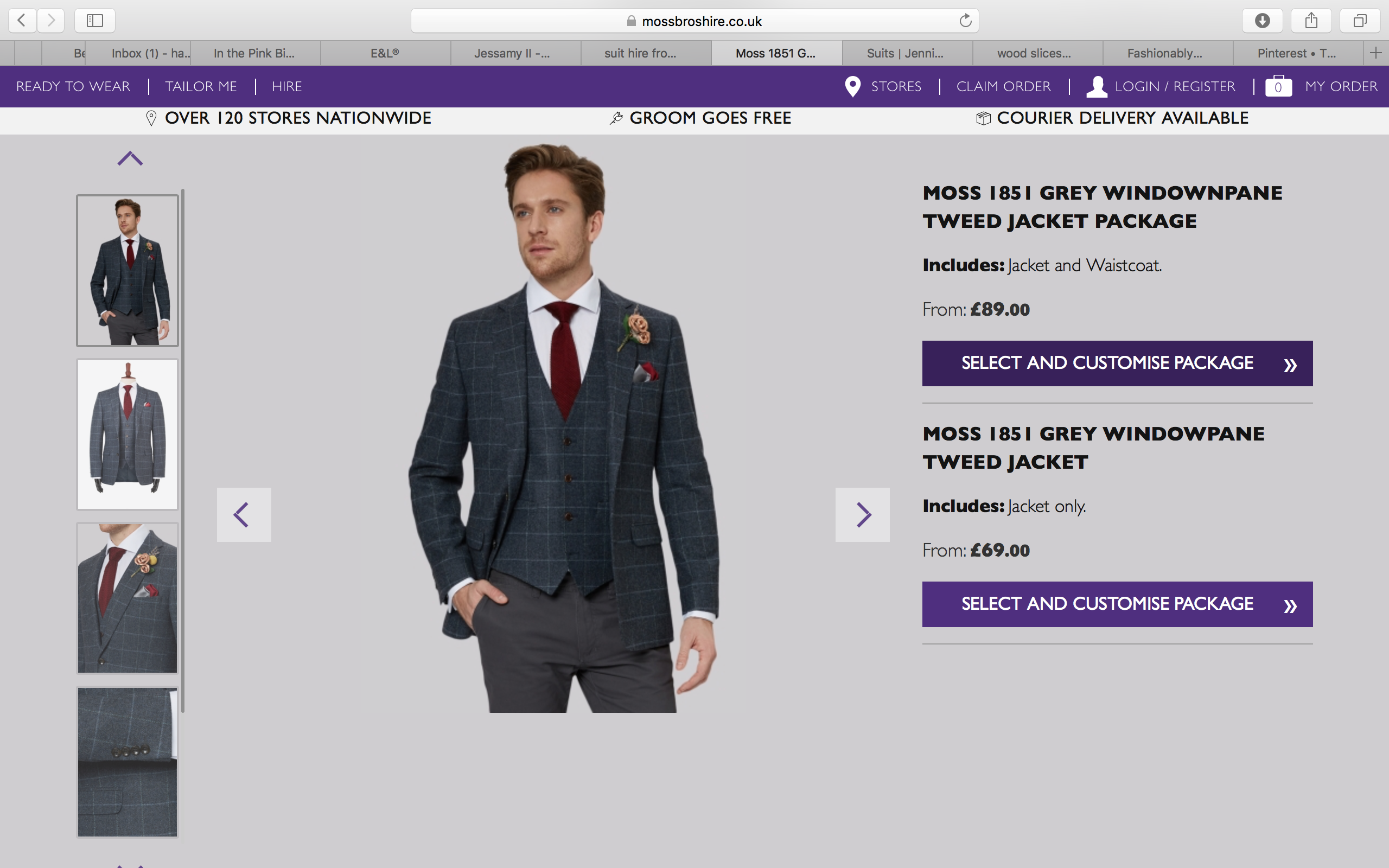 Moss Bros Suit Hire | grooms suits | Pinterest | Moss bros