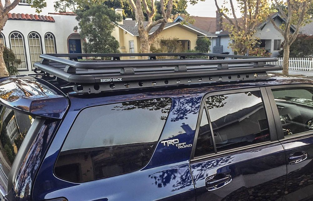 Rhino Rack Pioneer Sx Roof Rack 5th Gen 4runner Review Comparison 4runner Roof Rack Toyota 4runner