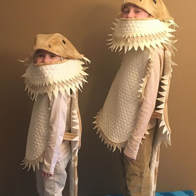 f521e71cc3327 Bearded dragon Halloween costumes. Teen and kids sizes shown ...