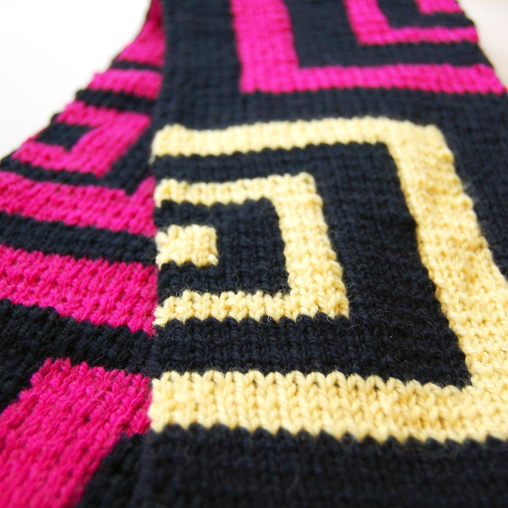 Square echoes double knit scarf chart patterns pinterest square echoes double knit scarf chart bankloansurffo Image collections