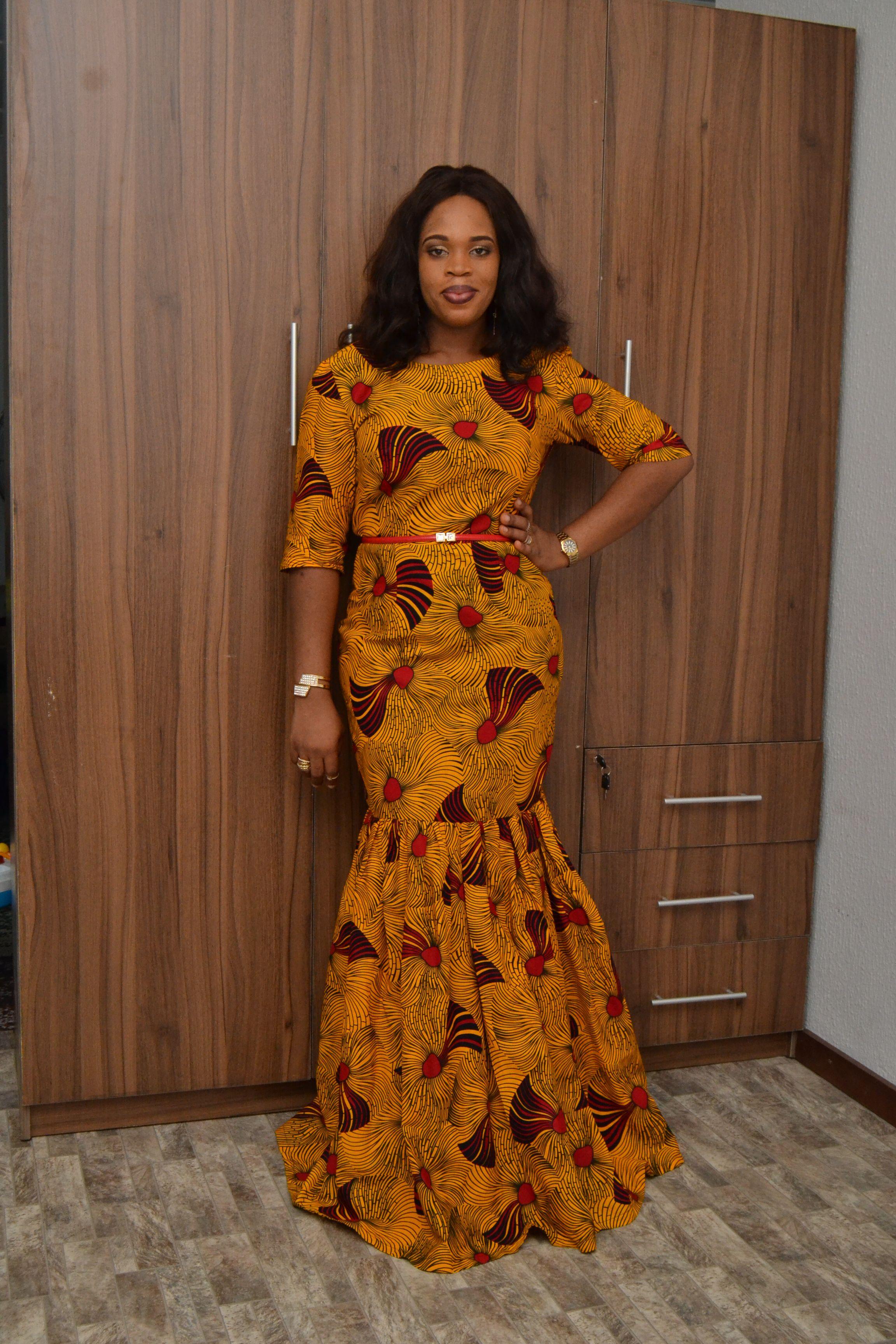 Ankara Dress/ Made in Nigeria/ Ankara styles/ Women's wear ...