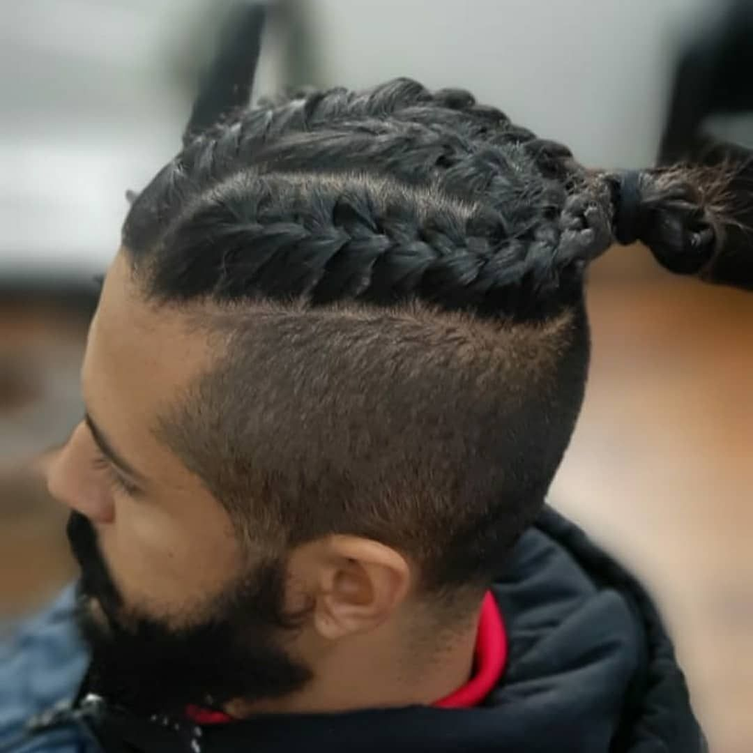 Mens Viking Braid Hairstyles