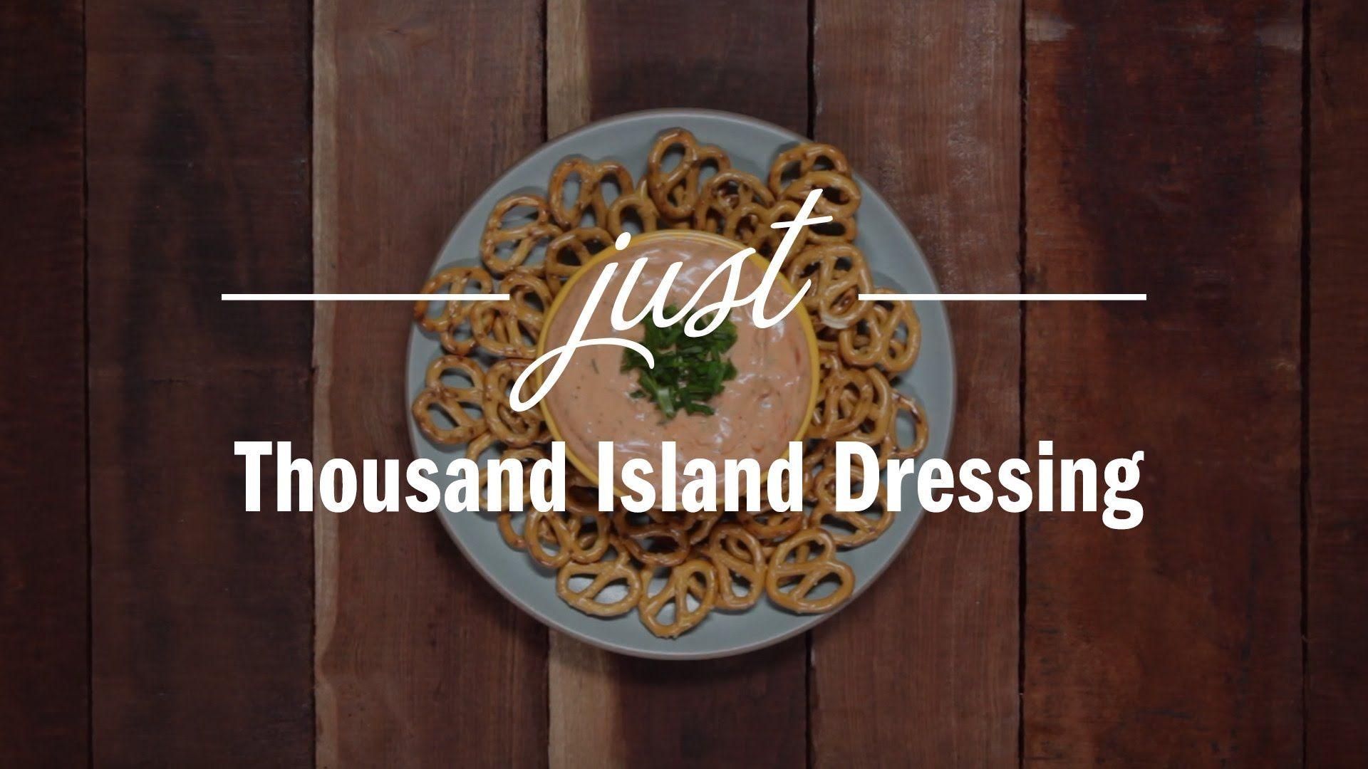 Homemade Thousand Island Dressing - Just Recipes