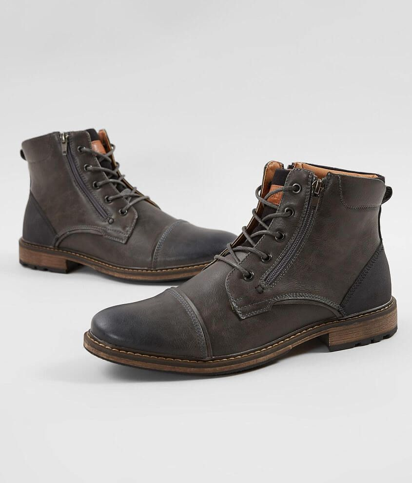 e8ce72d6a8c Steve Madden M Trader Boot - Men's Shoes in Grey | Buckle | My Style ...
