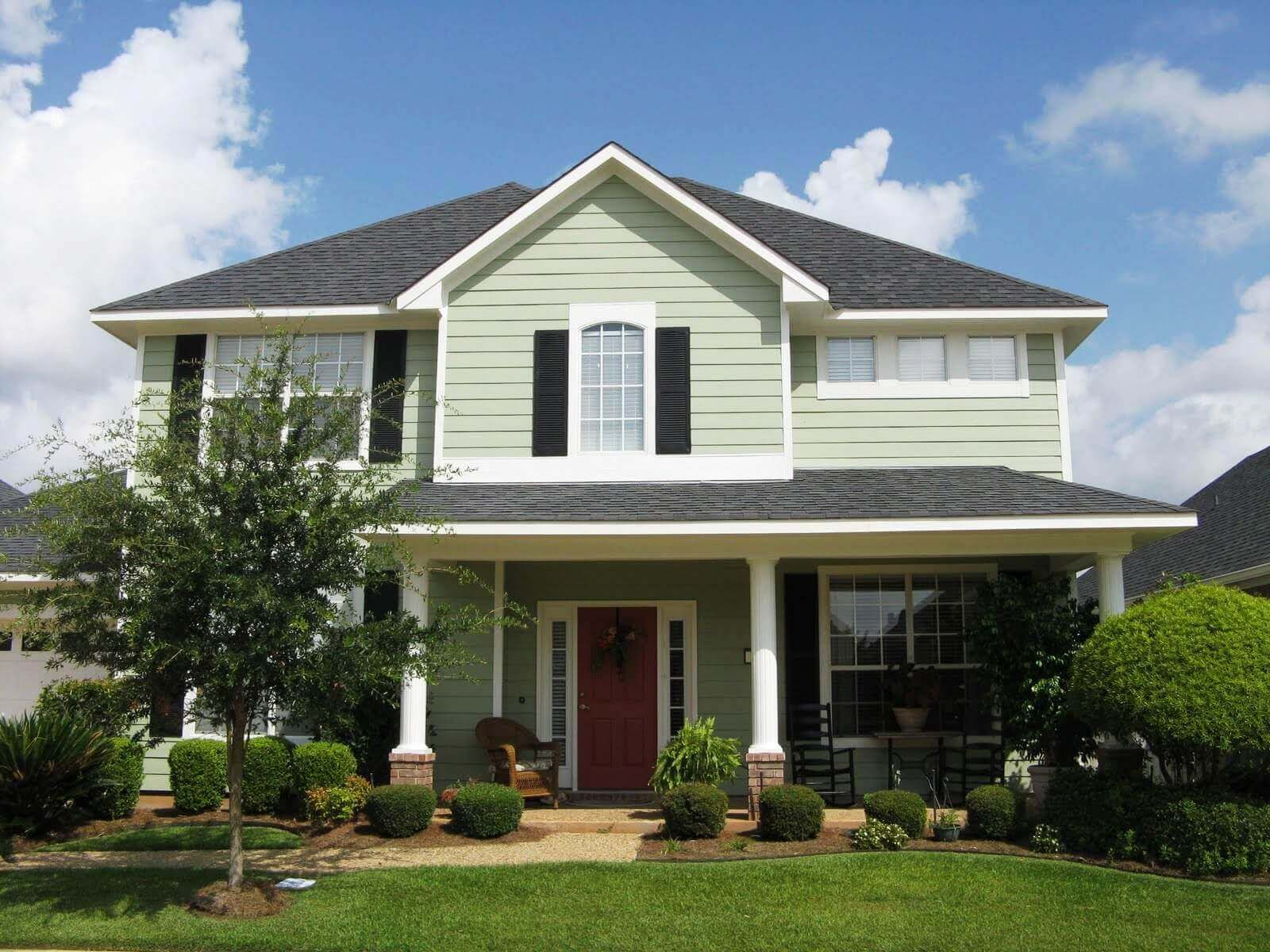 Mix And Match Exterior Paint Color Combinations Tips House