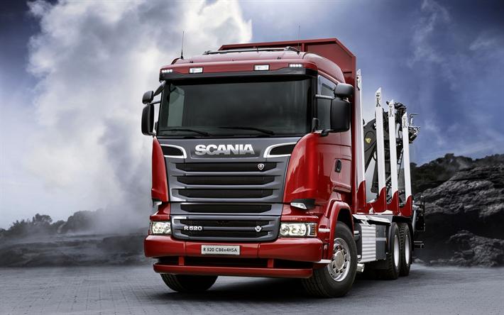 Descargar Fondos De Pantalla Scania R520 6x4 Agilizar La