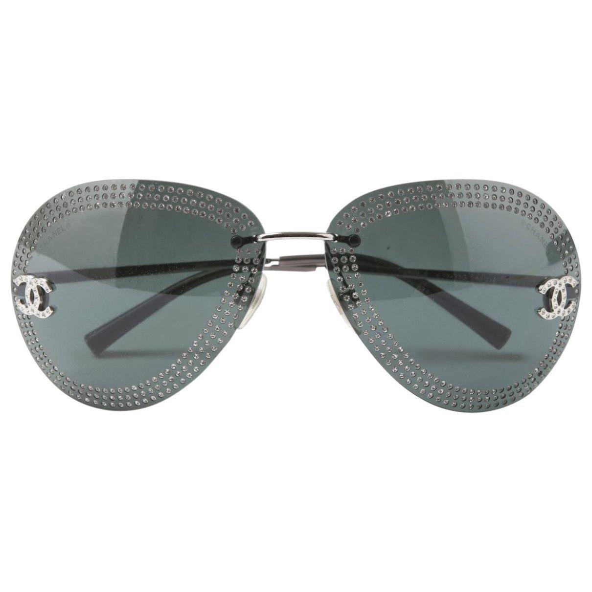 a554123b9a LUNETTES DE SOLEIL AVIATEUR CHANEL Chanel Sunglasses