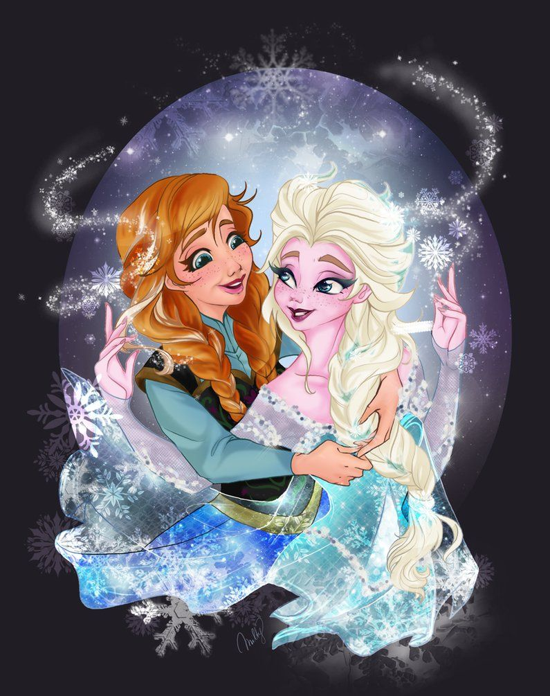 Sisters of Arendelle by CigarsCigarettes on DeviantArt