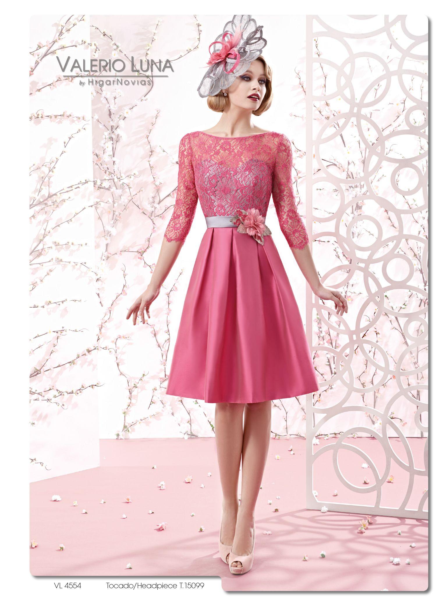 Vestido de fiesta fucsia en Dream Day Valladolid www.dreamday.es ...