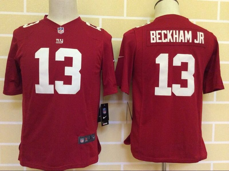 b0a51488c This Nike Kids New York Giants Odell Beckham Jr Red Game Jersey ...